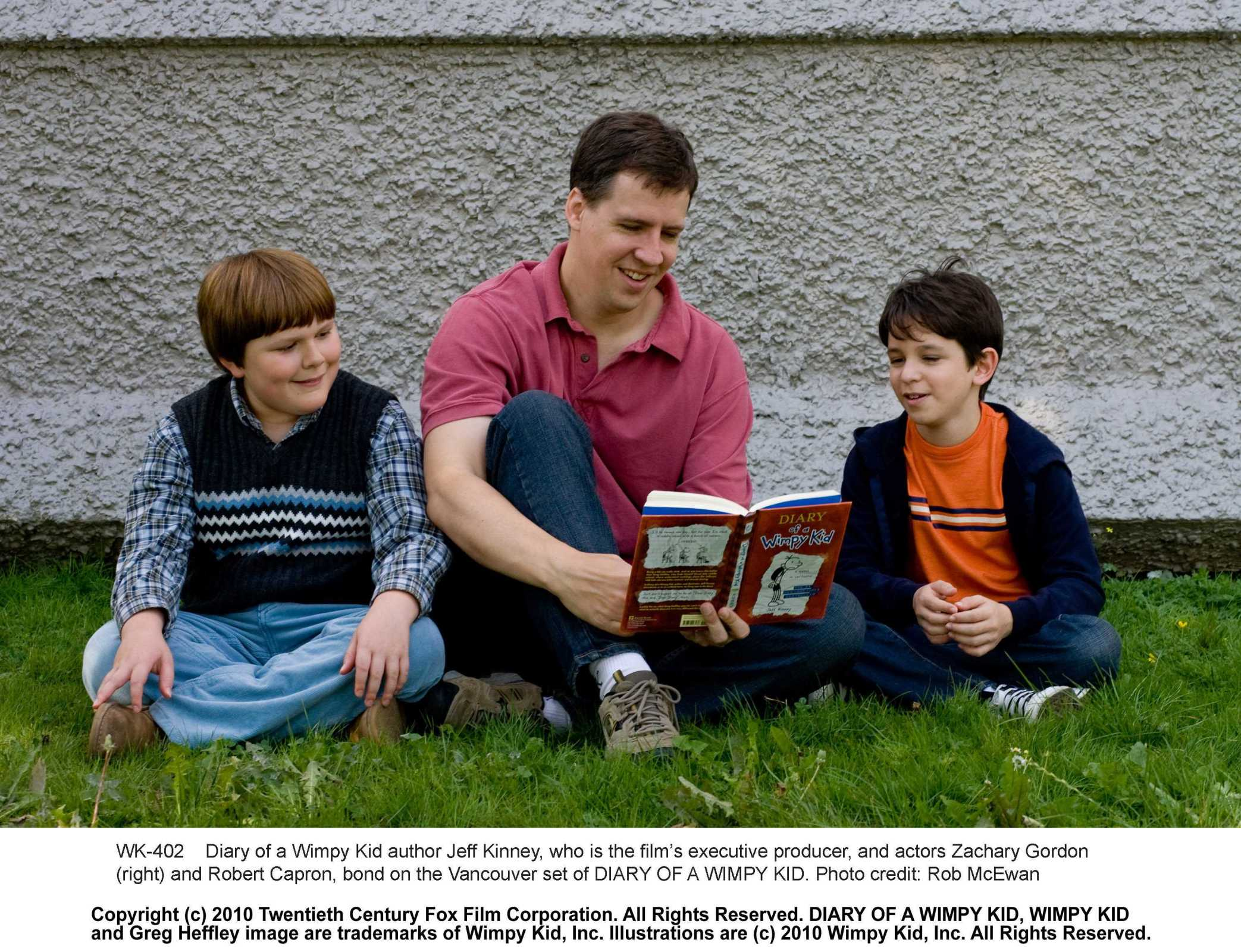 diary of a wimpy kid 2010 film