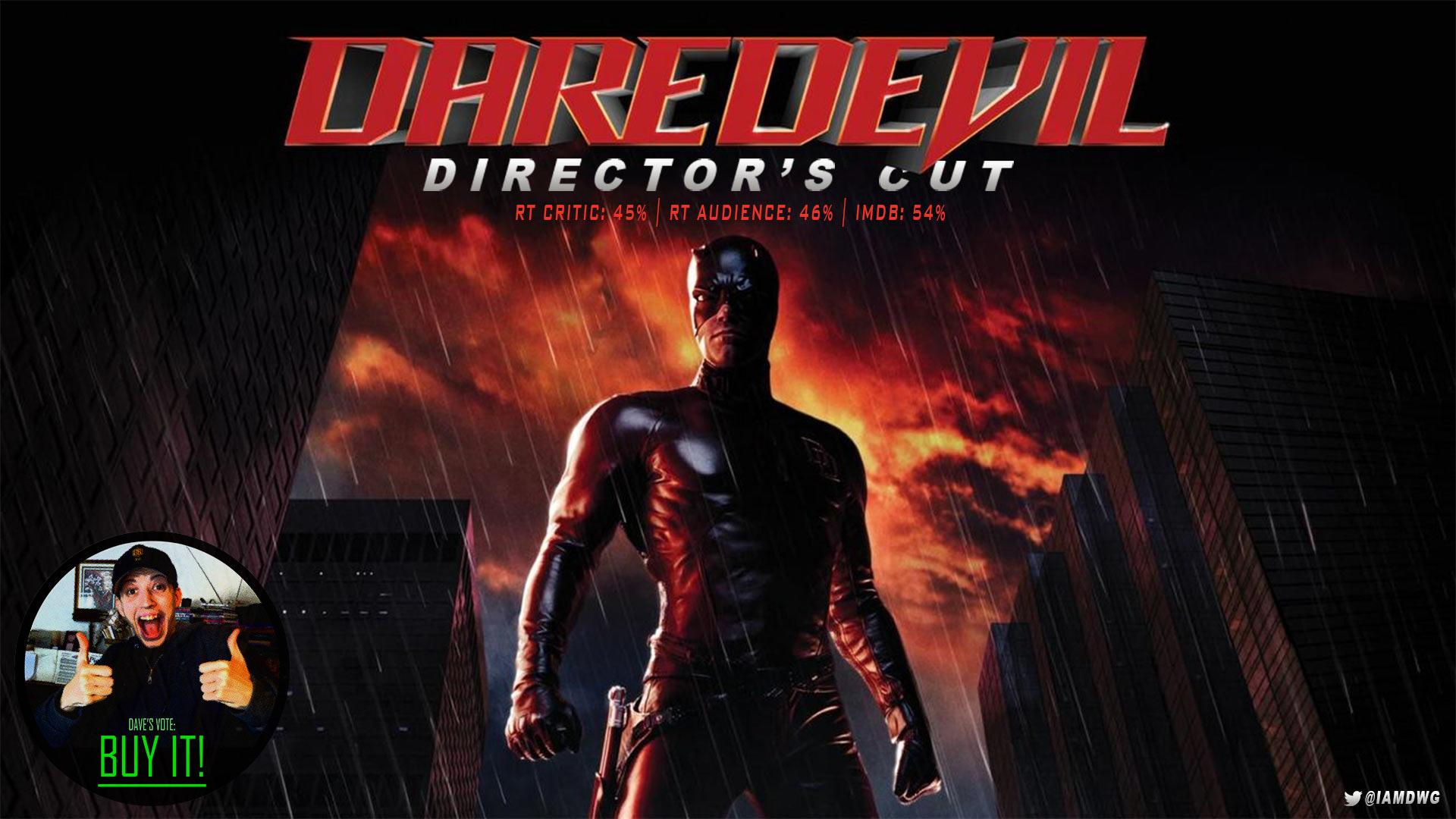 Daredevil Directors Cut 2003 Dave Examines Movies