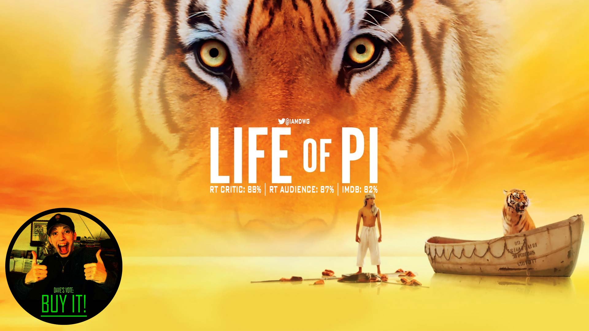 Life of pi 2012 dave examines movies for Life of pi character development
