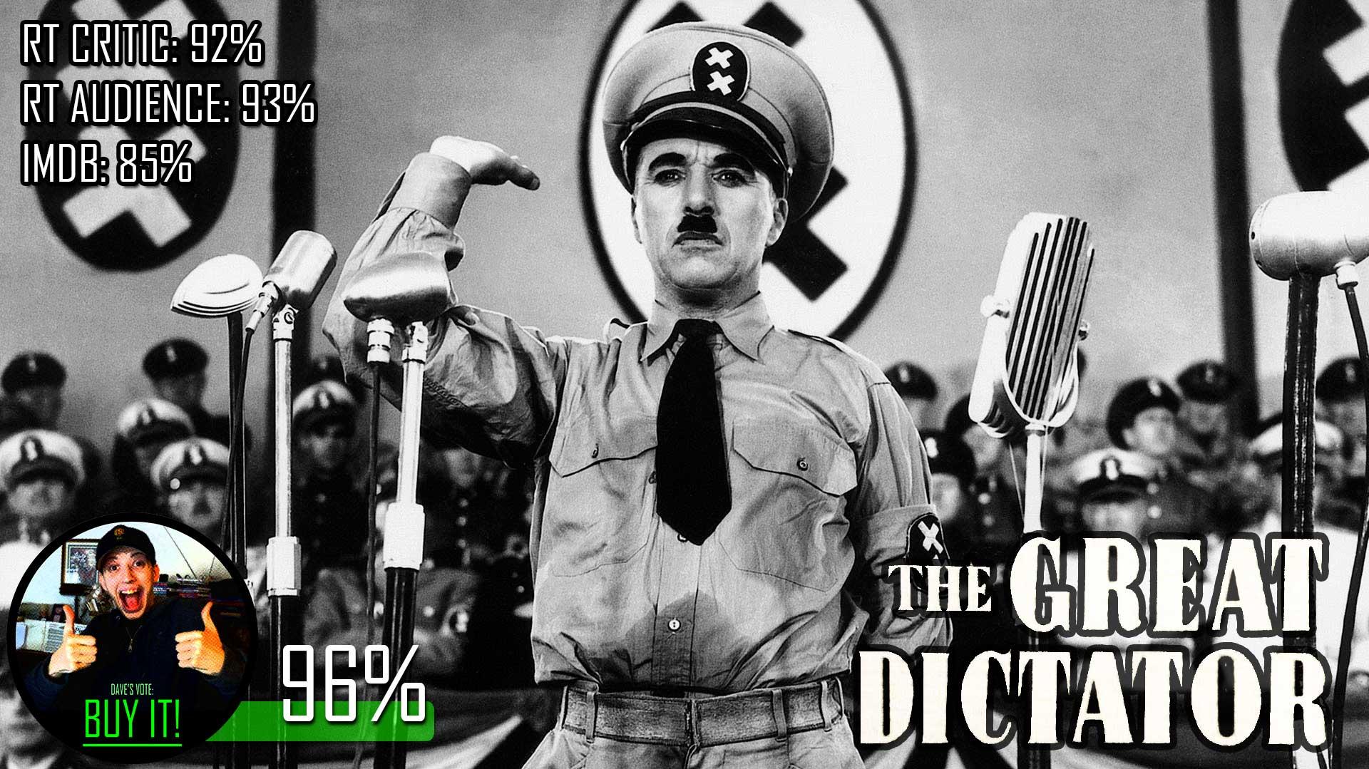 imdb the great dictator