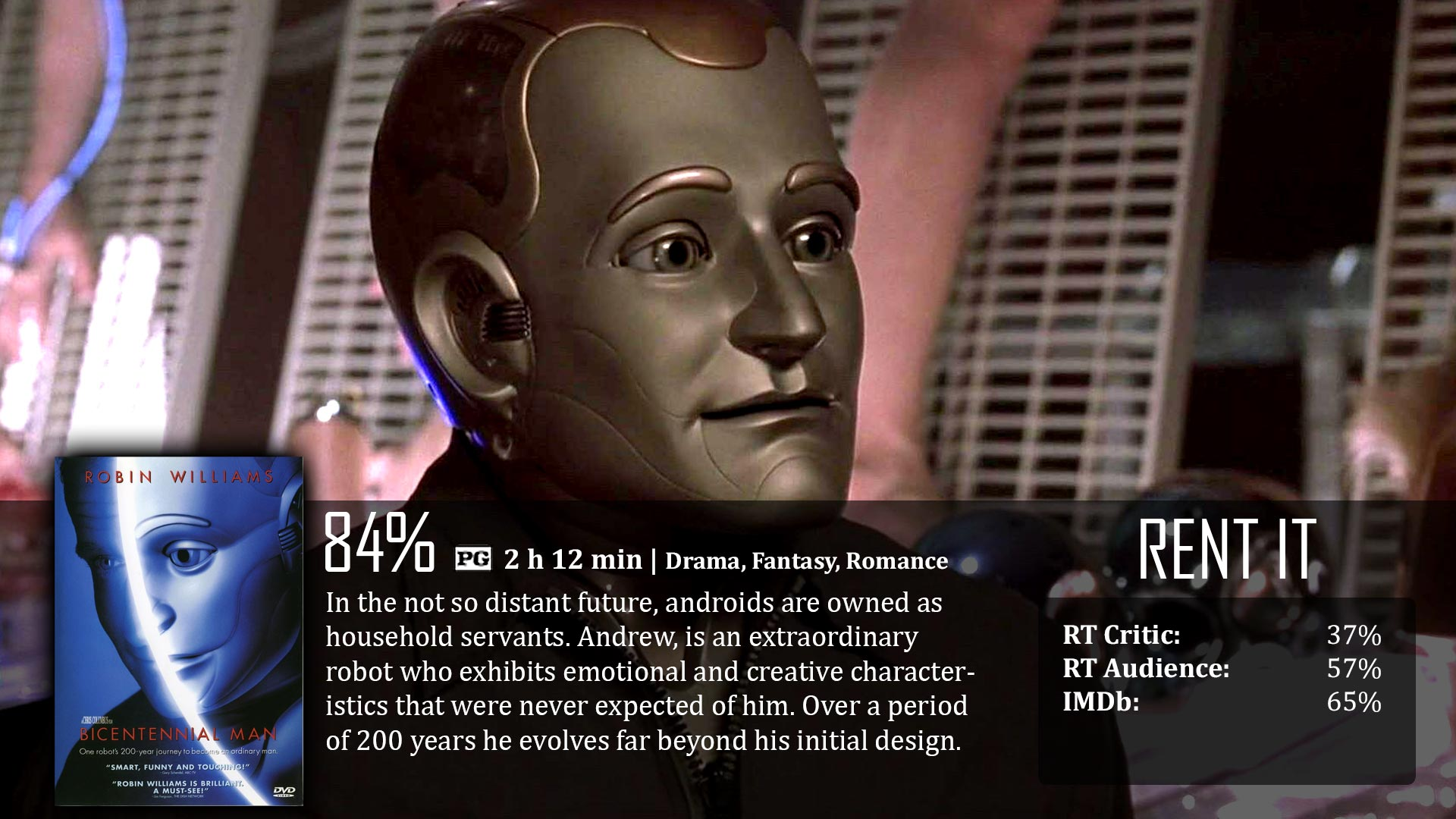 bicentennial man Richard martin is a good father who is willing to make sacrifices for his family he tries to act in the best interests for his family, but at times, hie wife is.
