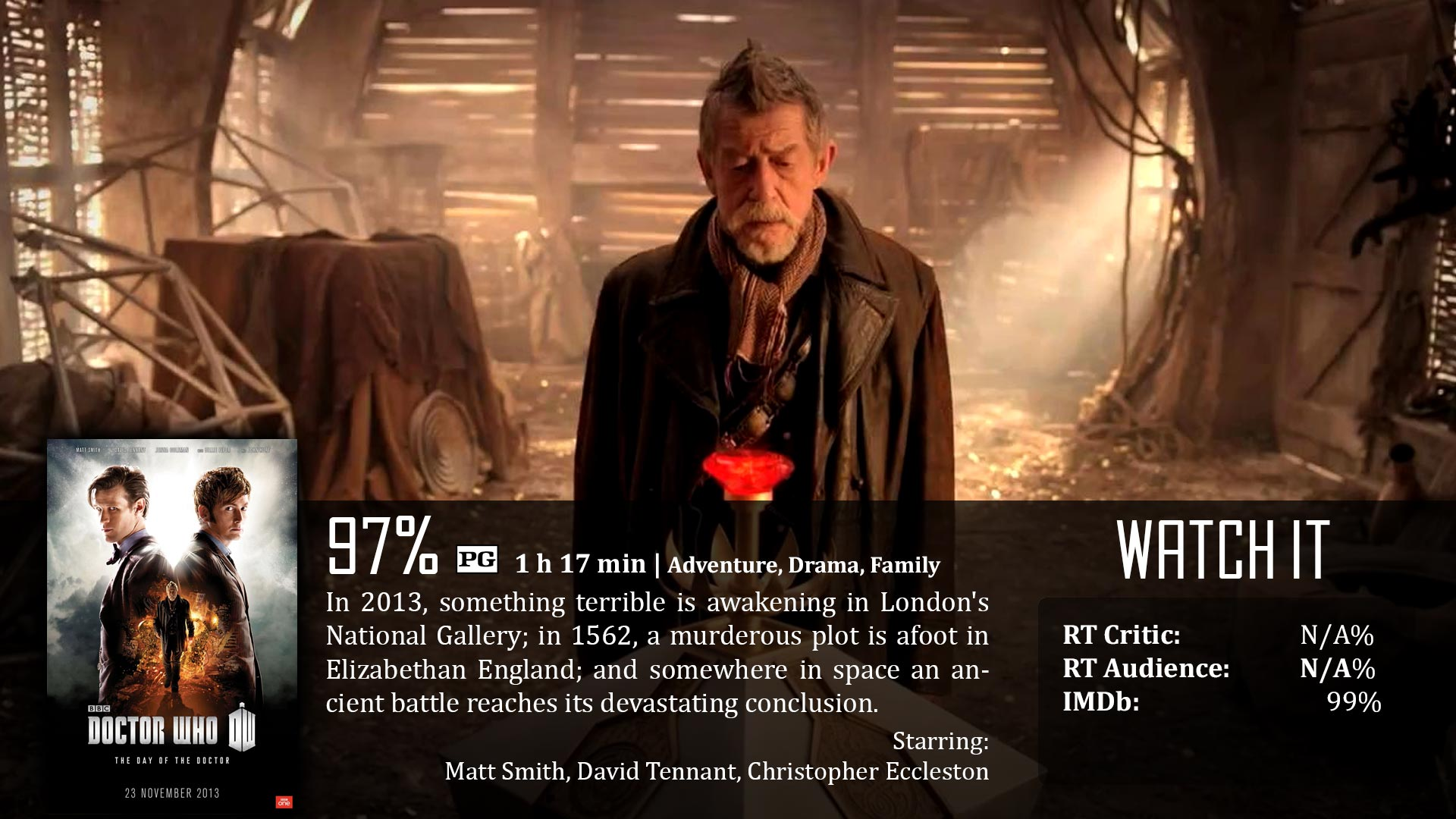 Doctor Who: The Day of the Doctor (2013) | Dave Examines Movies
