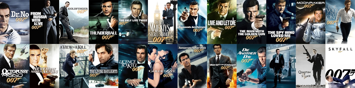 The James Bond Collection (1962-2012)