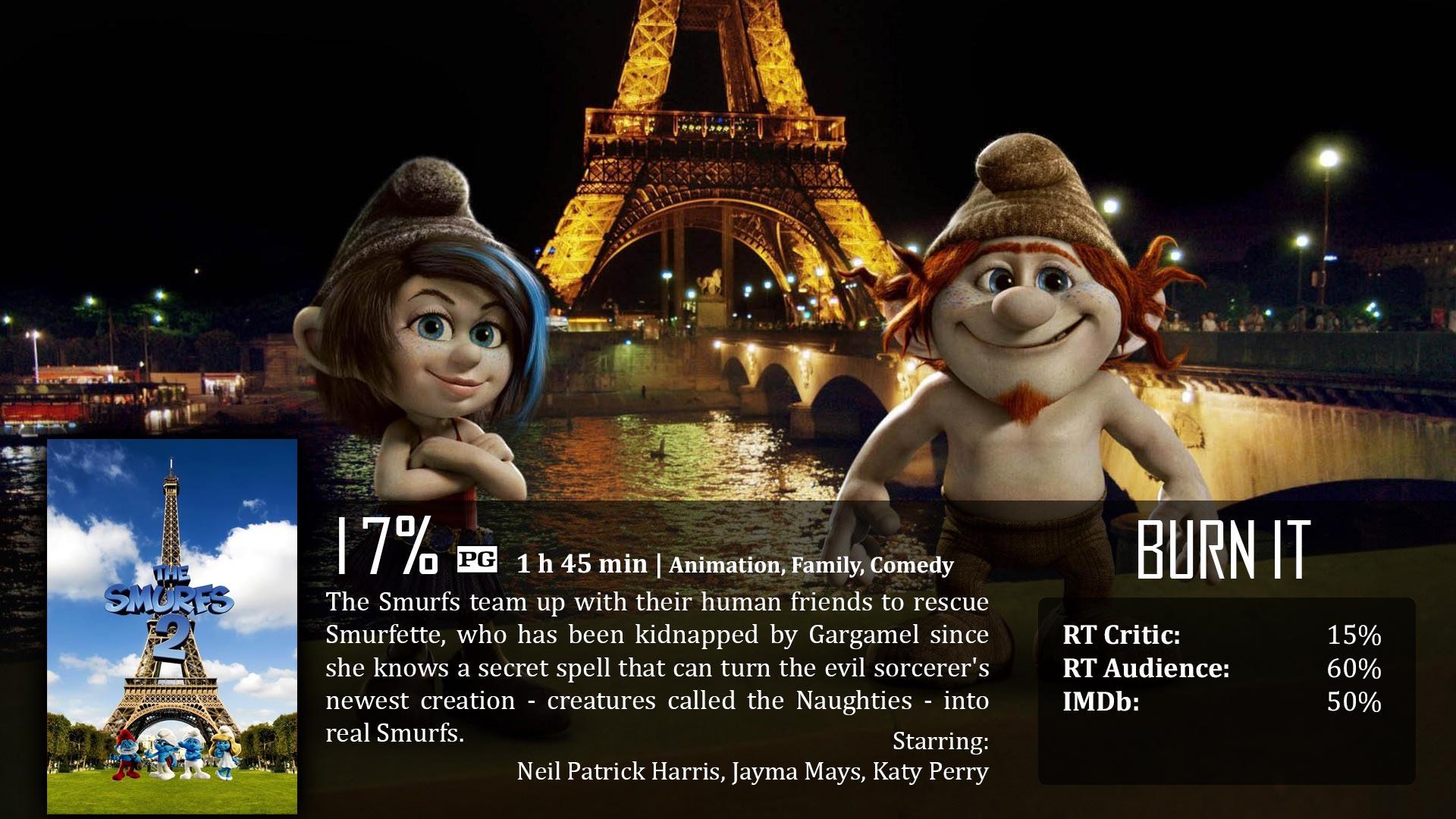 the smurfs 2 (2013) – dave examines movies