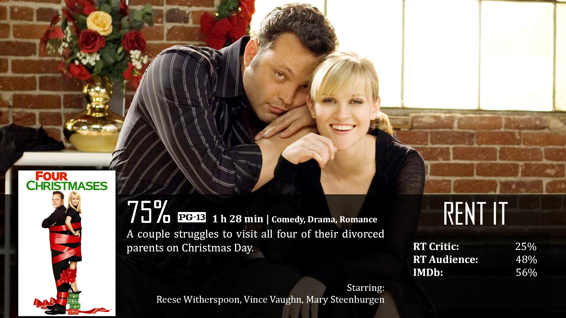 four christmases - Vince Vaughn Christmas Movie