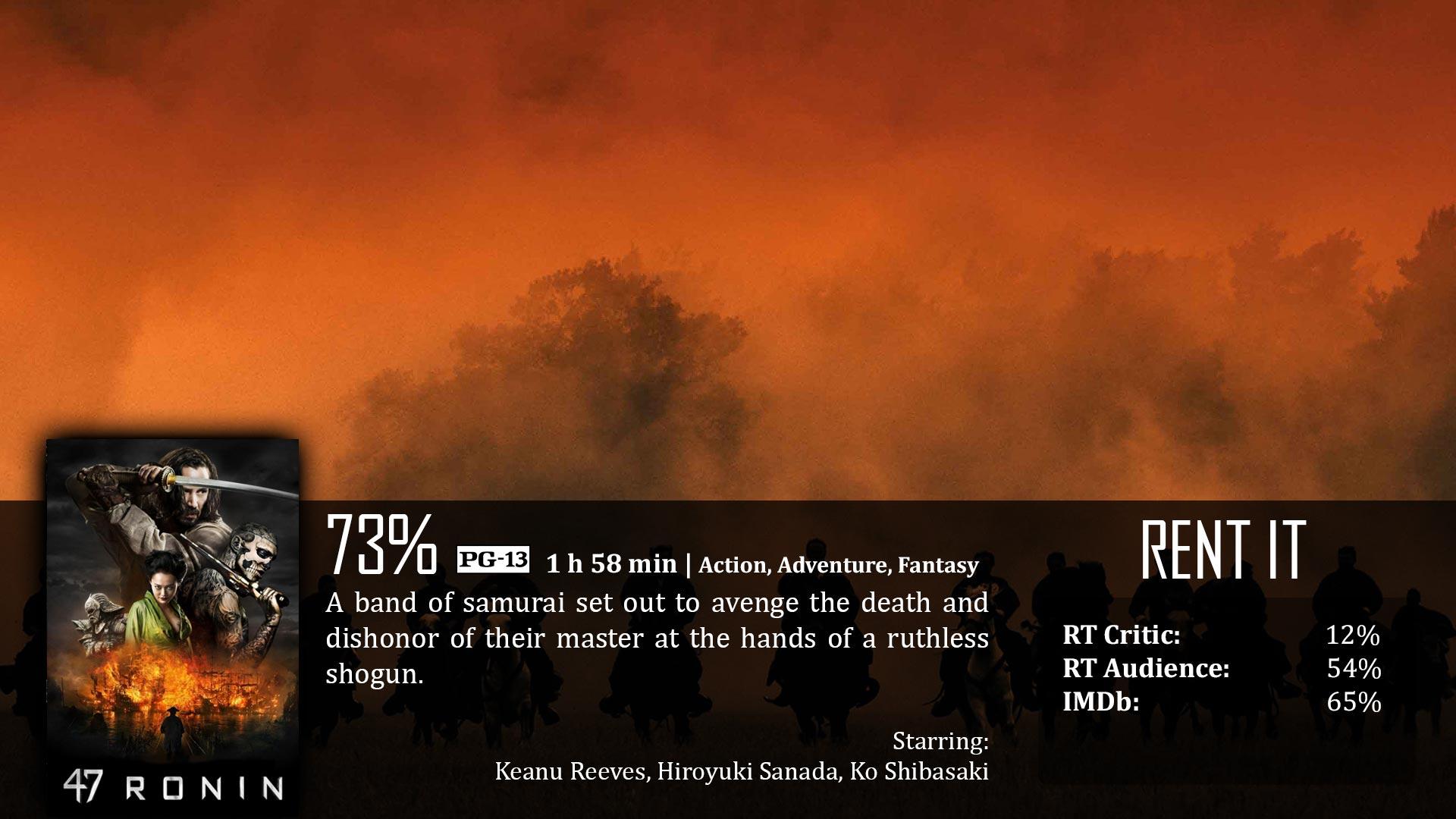 47 Ronin (2013) – Dave Examines Movies