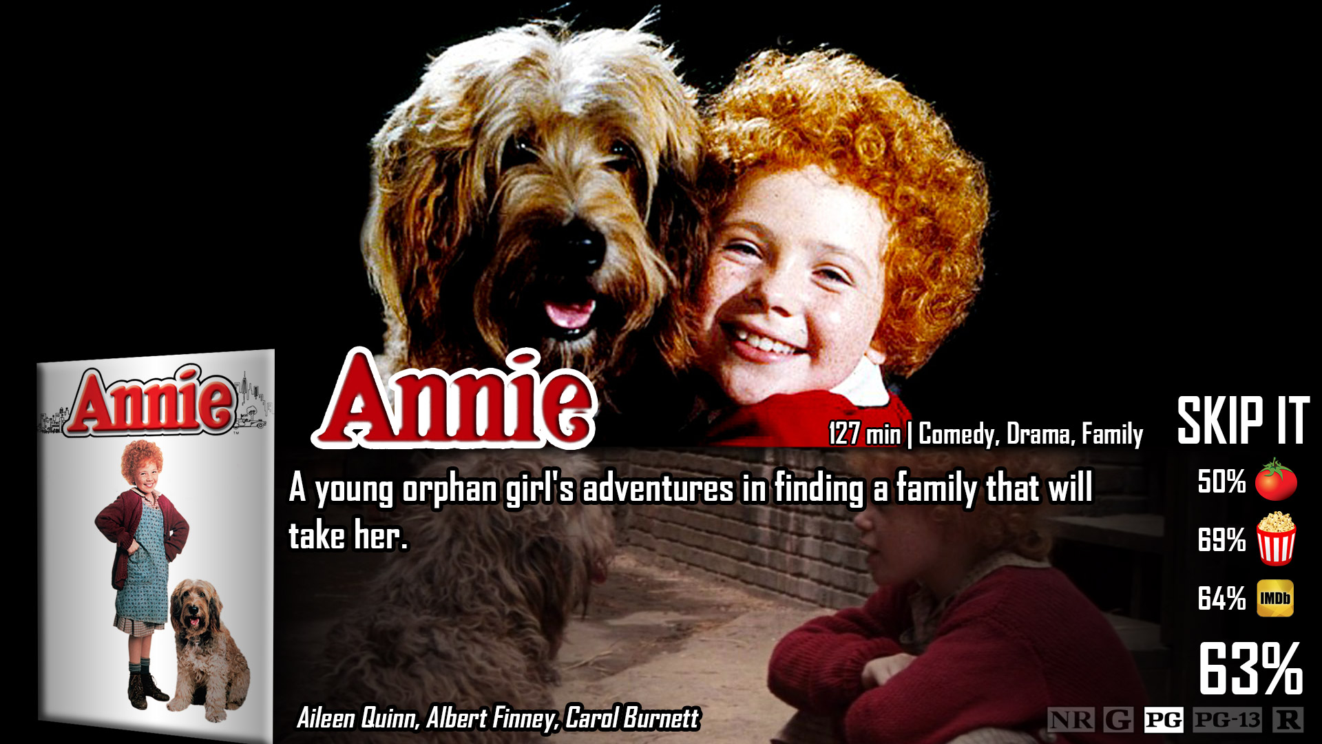 Annie movie poster