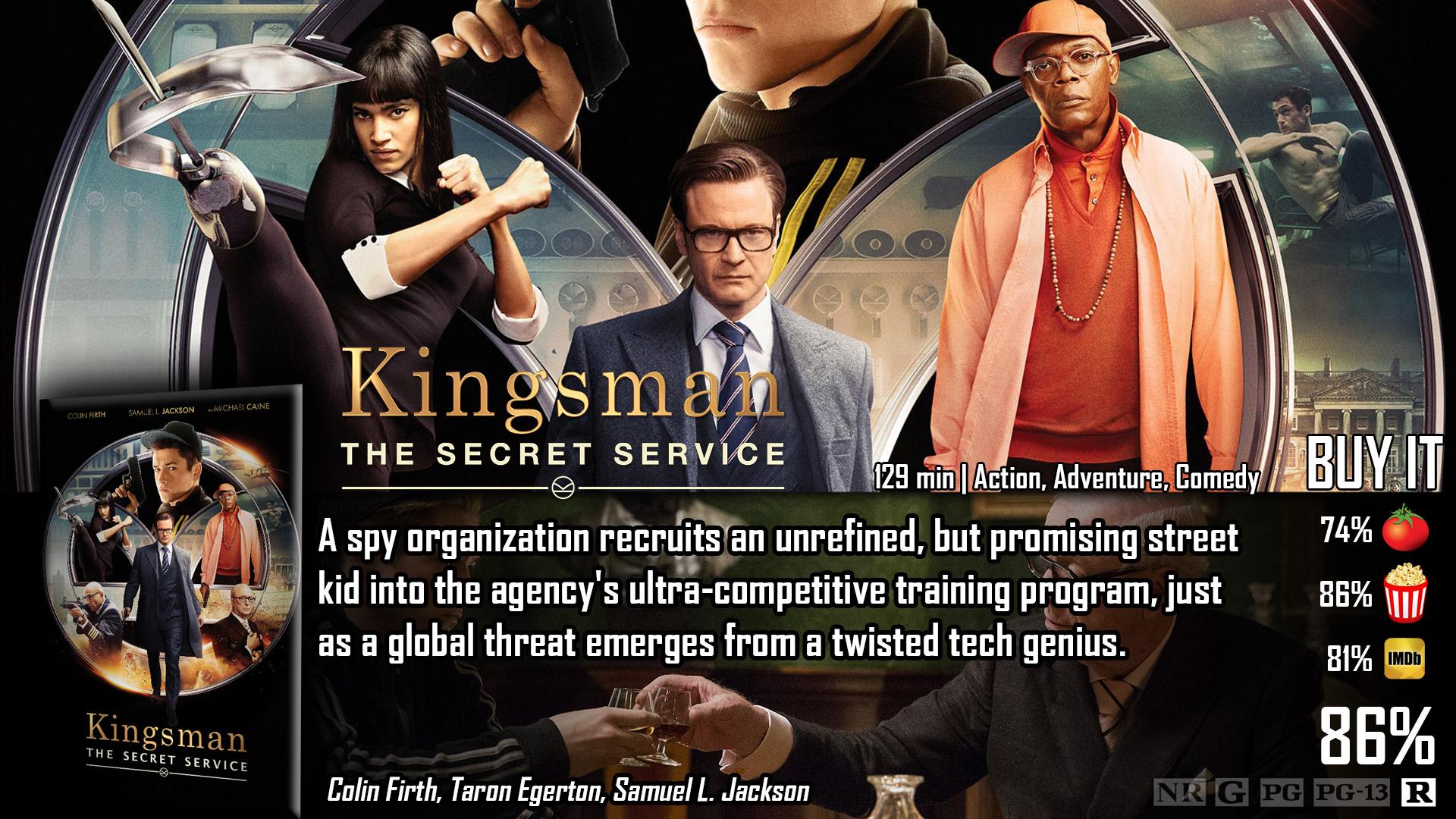 kingsman 3 imdb