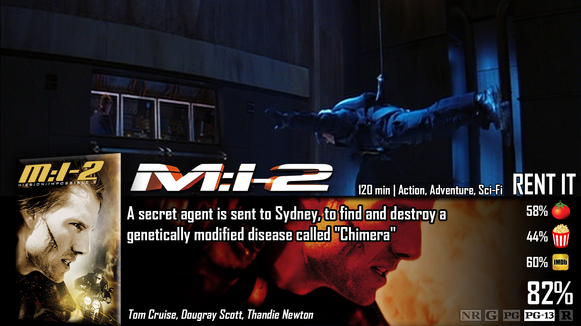 Image result for Mission: Impossible II (2000)