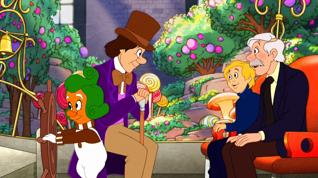 Charlie In The Chocolate Factory Full Movie In Tamil
