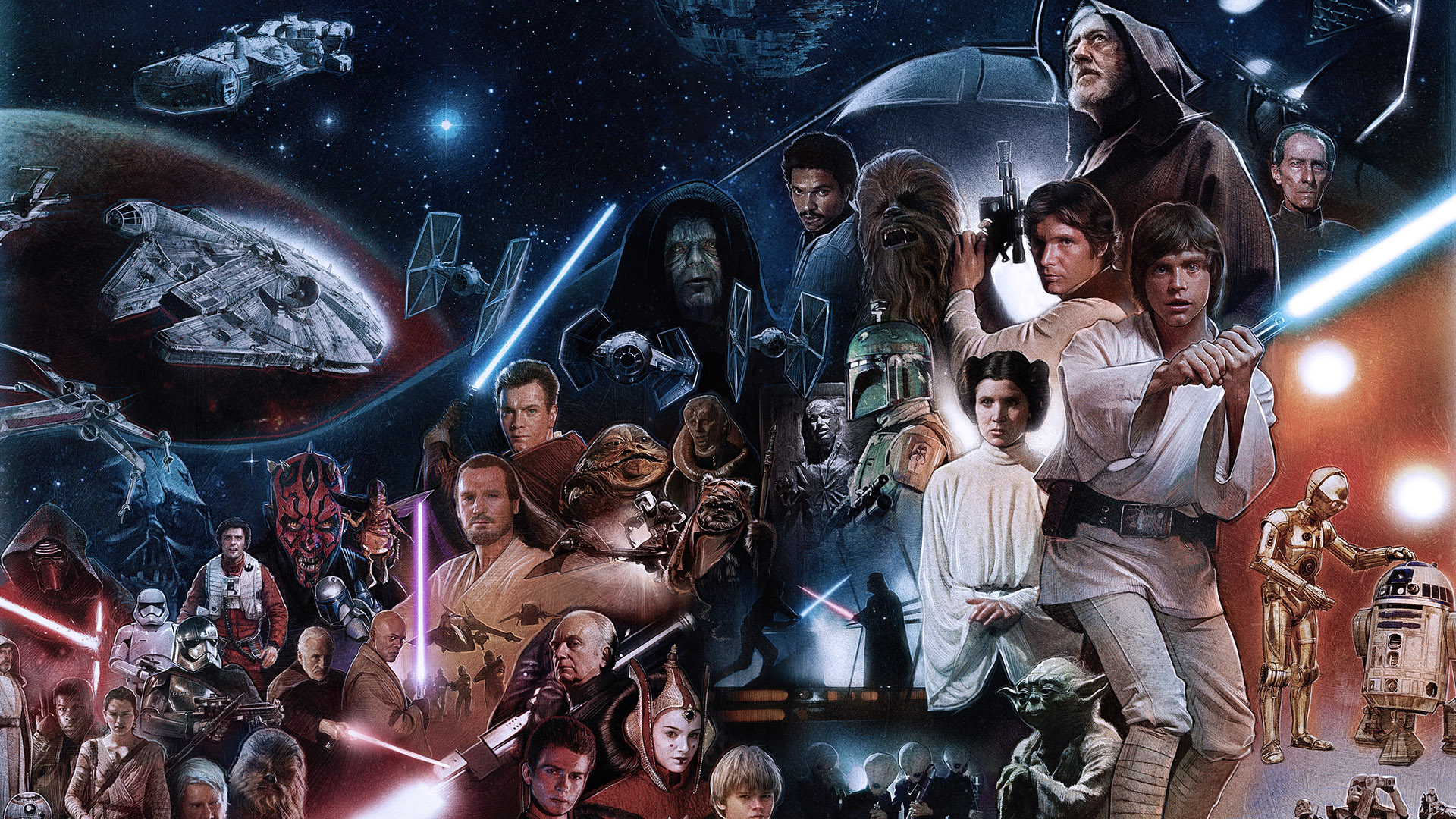 Universe Review – Star Wars (1977-2018)   10 Films